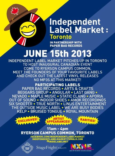 Indie Label Market - toronto Social review